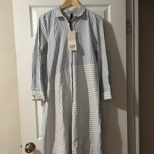 Zara Dresses - Sold - Zara shirt maxi dress size S